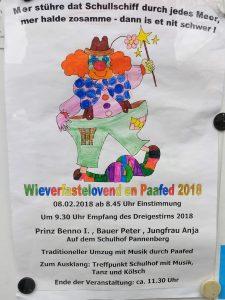 Plakat Schullzoch GGS 2018